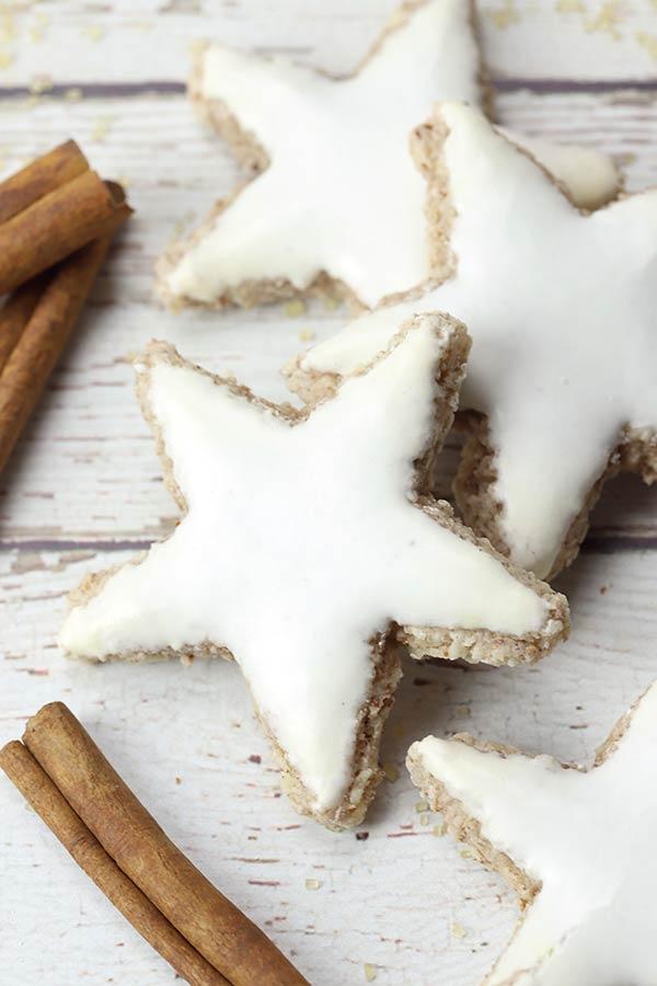 Zimtsterne – German Cinnamon Star Cookies
