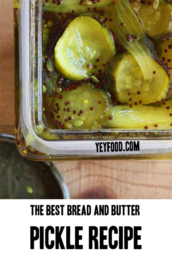 The Ultimate Bread and Butter Pickle Recipe