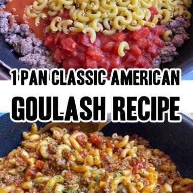 1 Pan Classic American Goulash Recipe