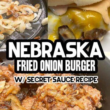 Nebraska fried onion burger
