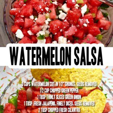 Watermelon Salsa pinterest image