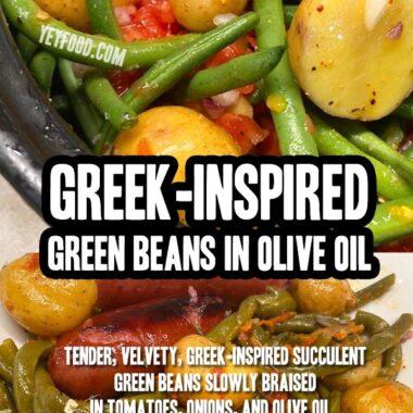 Greek-Inspired Green Beans in Olive Oil